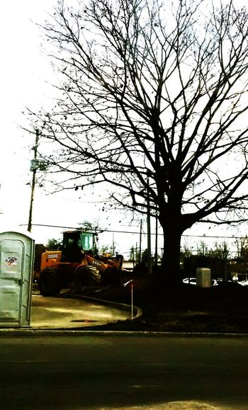 On the Job.... Taking Photos Light And Shadow Color Photography Diggers! Heavy Equipment Potty Hello World