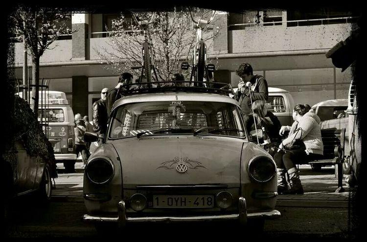 Volkswagen Fastback Ratlook Blacknwhite JBergmansPhotography
