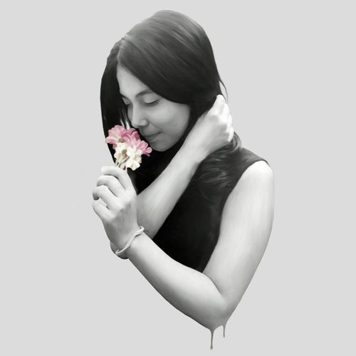 Flower girl Art, Drawing, Creativity Digital Art Illustration Photoshop Art Drawing Sketching Hello World Artistic Popular
