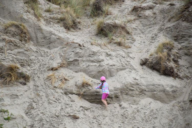 Sand Beach Childhood Children Only Full Length Girls Outdoors One Person Day One Girl Only Child Sand Dune Nature Real People People Adult Beauty In Nature EyeEm Selects EyeEmNewHere Children Dune Sand & Sea Sand Dunes Zeeland  Nederland