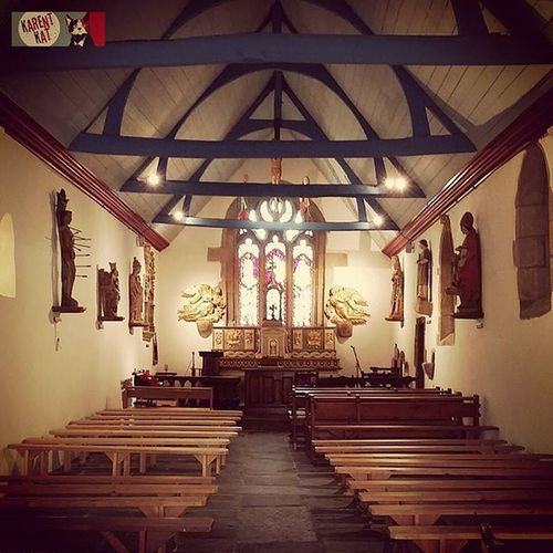 Chapelle du Quilliou . Plonevezdufaou Bretagne Finistere
