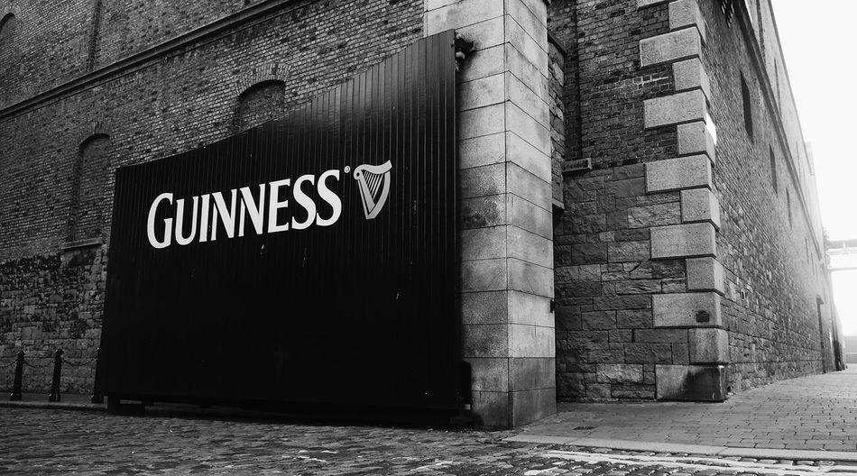 Architecture Building Exterior Built Structure Communication Day Guinness Guinness Brewery No People Outdoors Text