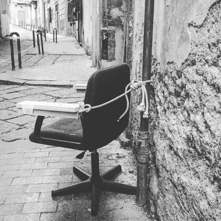 Chair Private Property Streets Of Napoli EyeEm Amazing Stuff In The World Amazing_captures Vicoli Di Napoli Shoot EyeEm Gallery Streetphotography My Life Taking Photos That's Me EyeEmBestPics Hello World Meravigliosa Italia Napoli Street Life