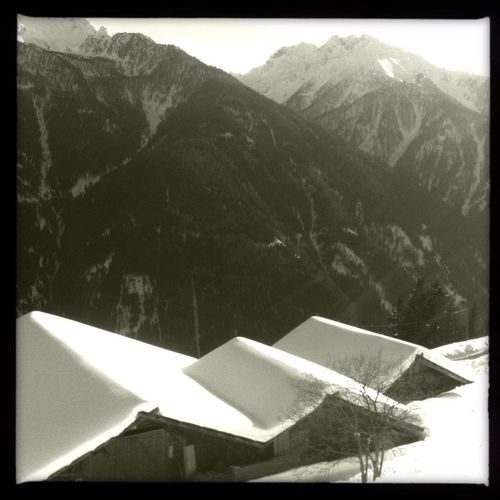 It's a beautiful day for a hike, the sun is shining and the temperature... Is ok Ultental Blackandwhite Hipstamatic Ulten