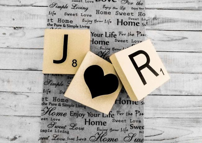 Communication No People Close-up Indoors  Scrabble Scrabble Tiles Scrabble Art Lovephotography  Love Is In The Air Anniversary Loveatfirstsight EyeEmNewHere