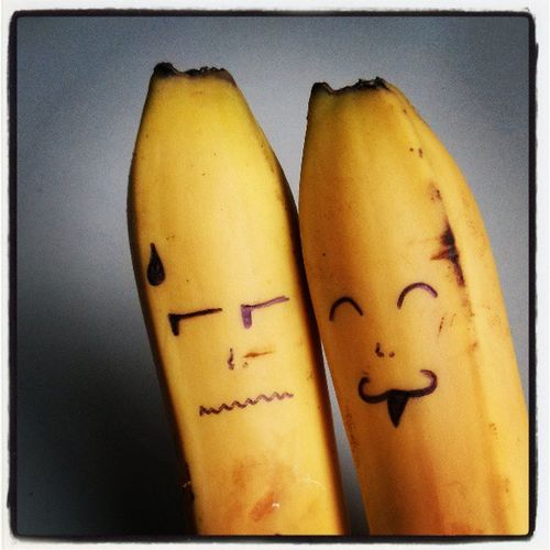 best friends... But for how long :D Besterfreund Friends Fun Bananen Happy Tilltheend Love Life Pictures Banana Bestfriends Best  Pic Photograph