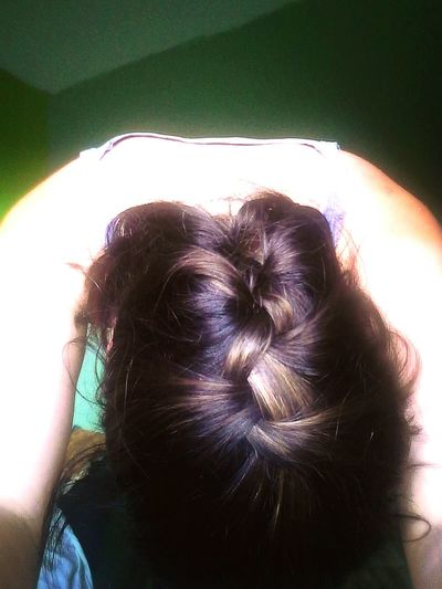 Hair Hairbraid Braid BrownHair Blackhair Room Brown Black Upsidedown