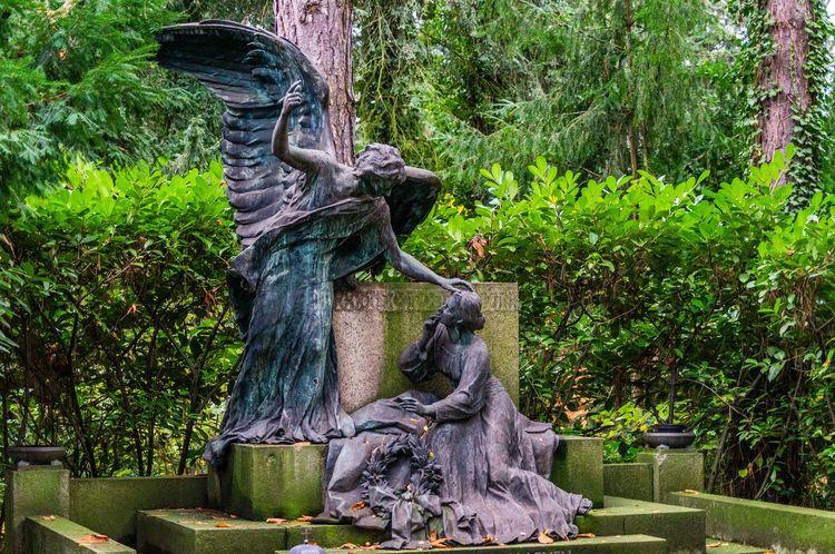 Angel Grave Gravestones Graveyard Graveyard Beauty Cemetery Cemeterybeauty Engel Grab Gräber Melaten Friedhof