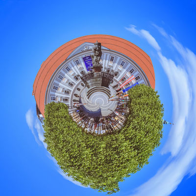 Little Planet Neuer Platz in Klagenfurt Austria Holiday Holidays Klagenfurt Am Wörthersee Little Planet Nature Neuer Platz Rathaus Travel Carinthia Day Geometry Kärnten Lakescape Landscape Little Planet Panorama No People Outdoor Outdoors Round Circles Seaside Sky Square Shot Travel Destination