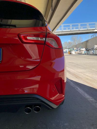 Sweet sound Exhaust Sportcar IPhoneX Welcome To My World Ford Fordfocus Welcome Transportation Mode Of Transportation Motor Vehicle Car Land Vehicle Red Day No People