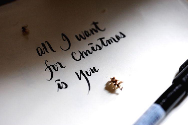 Christmastime Hand Writing Calligraphy Open Edit OpenEdit HongKong