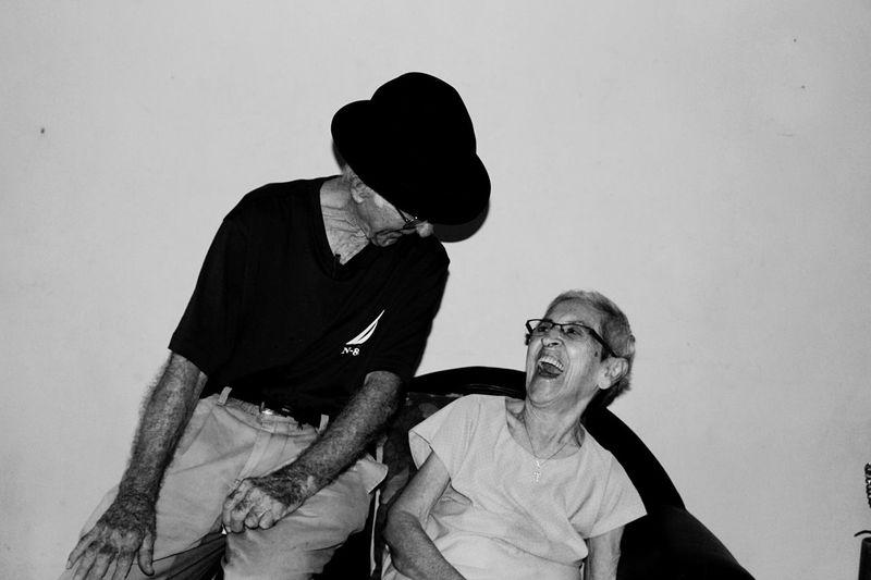 Grandparents Love ♥ Lovely Truelove Cali Colombia Santiago De Cali Abuelos Smiles Love Sweetheart Blackandwhite Black And White Eyem Black And White Lovely Amor EyeEm Awards 2016