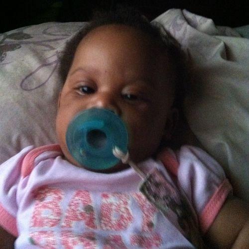Me niece...she so cute