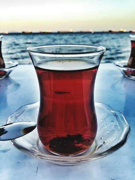 Drink Sea No People Tea Hello World EyeEm Gallery Nature Purity Freshness Blue Sky Sky Close-up Food And Drink Serving Size Beverage Popular Photo Populareyeem