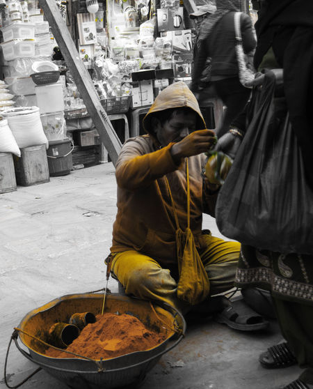 Curry Dealer Day EyeEm Best Shots Food Food And Drink Freshness Indoors  Market Marketplace Men Nepal #travel Nepalese Nepalipeople😊 Occupation One Person People Real People Connected By Travel Adventures In The City