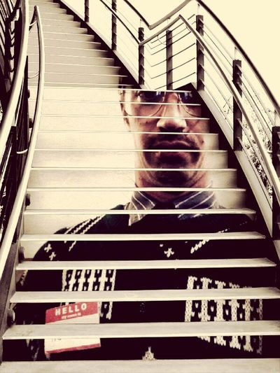 Creepy staircase Check This Out with Creepyguy Public Art Art Stairs
