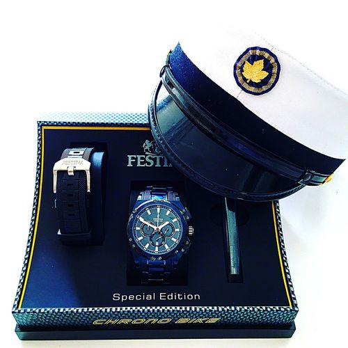 New festina limited edition 2016 Technology Communication Connection Low Angle View Time Old-fashioned Memories Camera - Photographic Equipment Modern Outdoors Global Communications Man Made Object Studio Shot The Past Journey No People Watch Festina Limitededition 2016 Gift Study Blue White Background White
