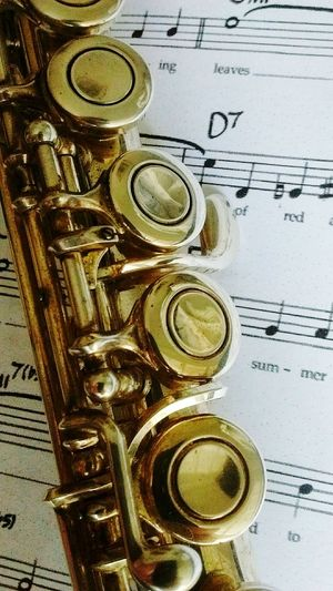I do love playing Bossanova in my Flute . Silver  Music Musical Instruments Musical Notes Transversal