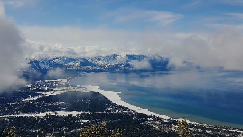 Check This Out Travel Photography Lake View Enjoying Life Relaxing EyeEm Nature Lover High Angle View Hello World Lake Tahoe Heavenly Showcase: January