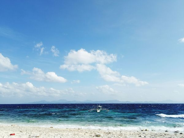 When everything is about Clouds and Water Horizon Over Water Scenics Beauty In Nature Cloud - Sky Tranquility Beach Sea Water Sand Sunny Nature Sky Blue Vacations Wave Outdoors Summer Day No People Pastel Colored First Eyeem Photo