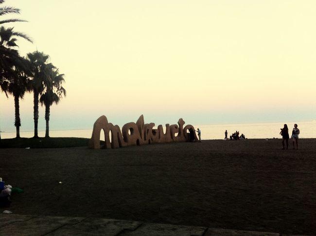 SPAIN Life Is A Beach Beach Summer Malagueta