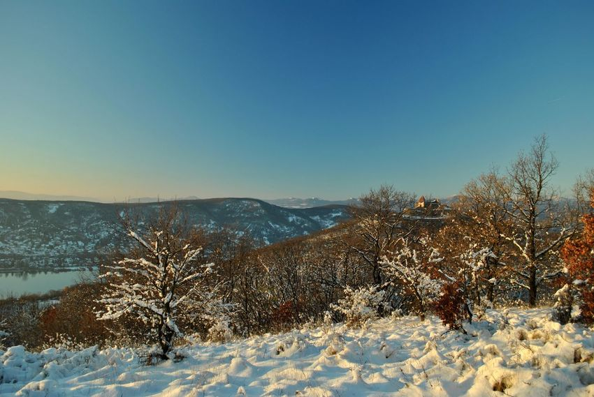 Danube and the castle December EyeEmNewHere Frozen Hungary Nature Visegrád-Hungary Winter Wintertime Bare Tree Beauty In Nature Blue Clear Sky Cold Temperature Colorful Day First Day Of December Frozen Nature Landscape Lovewinter Mountain Mountain Range Nature No People Outdoors Scenics Sky Snow Snowdrift Sunlight The First Snow Tranquil Scene Tranquility Travel Destinations Tree Valentinamilkovics Winter