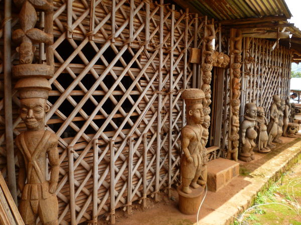 Africa AFRICAN CULTURE Ancient Architecture Building Exterior Built Structure Culture And Tradition Day History No People Sculpture Wood - Material