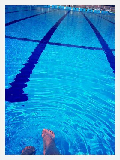 Summer Swimming Pool Blue Goodmorning EyeEm