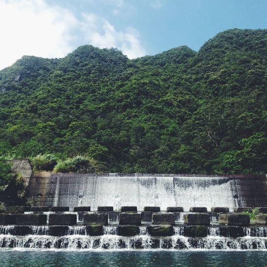 Taiwan Waterfall Adventure Traveling Mountains Sky Nature Yilan OpenEdit Popular Photos