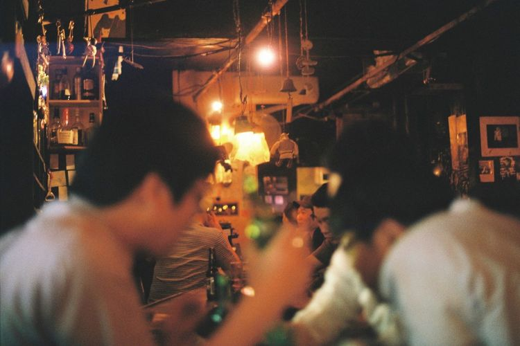 My Favorite Place Bar Film Seoul, Korea Seoul Still Life 35mm 35mm Film Seoul People And Places