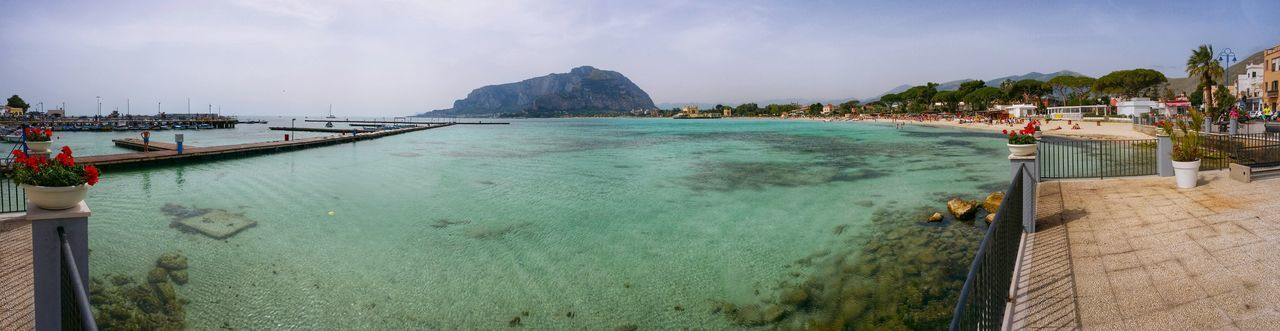 Mondello Palermo Sicily Italy Travel Photography Travel Voyage Traveling Mobile Photography Fine Art Backlight Panoramic Views Sea Bays Crystal Clear Waters Beaches Mountains Mobile Editing