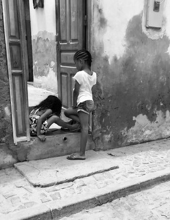People Photography Streetphotography Blackandwhite Blackandwhite Photography Streetlife Girls Blac&white Monochrome Just Hanging Out