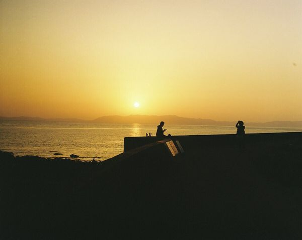 いつかの夕焼け空 Film Photography 120 Film Filmcamera PENTAX67 Portrait Sunsetporn EyeEm Best Shots - Sunsets + Sunrise