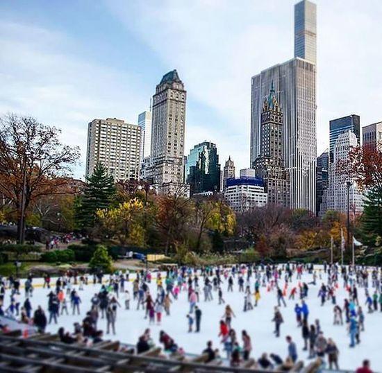 Central Park CentralPark Icerink Icering NYC NY Manhattan NuevaYork Newyorknewyork Nystreetphoto Bigapple Newyorkcity Newyorker Newyork