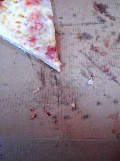 last piece of pizza left over Last Piece Piece Pizza Cut Pizza Box Carton Cartonage Fast Food Left Over Waste Food Waste Unhealthy Eating Unhealthy Lifestyle Unhealthy Food Day No People Close-up Outdoors