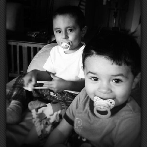 My boys!! Xavier Jossie Son Godson angelbabies