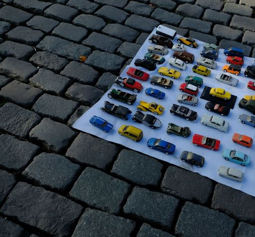 Cars City Cobblestone Streets Street Cars Toy Car Traffic Backgrounds Car Car Show Car Toy City Traffic Cobbled Streets Cobblestone Cobblestones Flea Market Fleamarket Ordered Ordered Objets Orderly Orderly Arranged Street Street Background Street Traffic Toy Cars