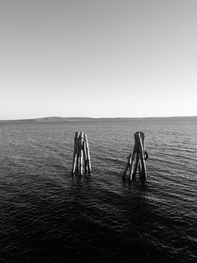 Blackandwhite Black And White Black & White Blackandwhite Photography Monochrome Black And White Photography Black&white Water Clear Sky Day Nature Sea Tranquility Outdoors Togetherness Sport Scenics Sky Horizon Over Water Friendship No People Beauty In Nature Trevignanoromano Italy Nature