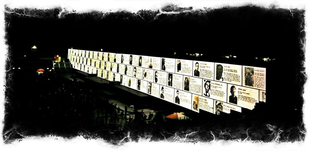 the wall of the fallen loved ones Roger Waters The Wall Rome