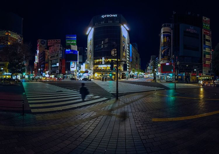 Shibuyascapes People Urban Japan Tokyo Tranquility Osmo Pocket DJI OSMO POCKET Dji Blurred Motion Night Midnight Night Illuminated Building Exterior Architecture City Built Structure Transportation Street Road Cityscape City Life Skyscraper Water Modern My Best Photo Humanity Meets Technology