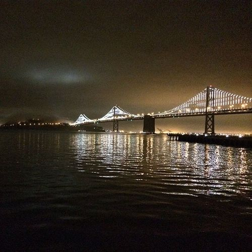 #sf #sanfrancisco #baybridge #baylights #nofilter
