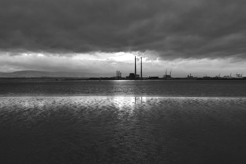 Cloud - Sky Cloudy Dramatic Sky Dublin Bay Overcast Pigeon House Rippled Sky