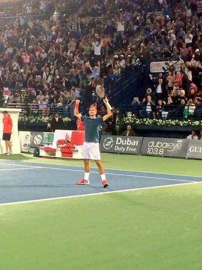 Congretulations Roger Federer Dubaitennis Atp Tennis