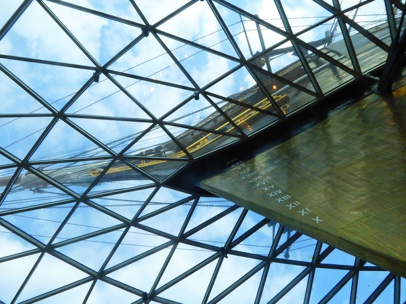 Cutty Sark Greenwich.  Under the hull looking up to the sky Looking At The Sky Boats River Thames Historic Historic Ship Historic Ships Ship Water Clipper London LONDON❤ Abstract