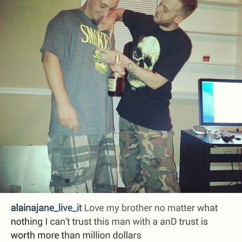 The caption tho Trust