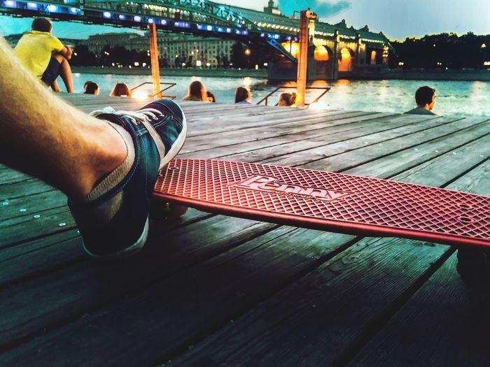 Moscow Russia Parkgorkogo Skateboarding Skate City City Life