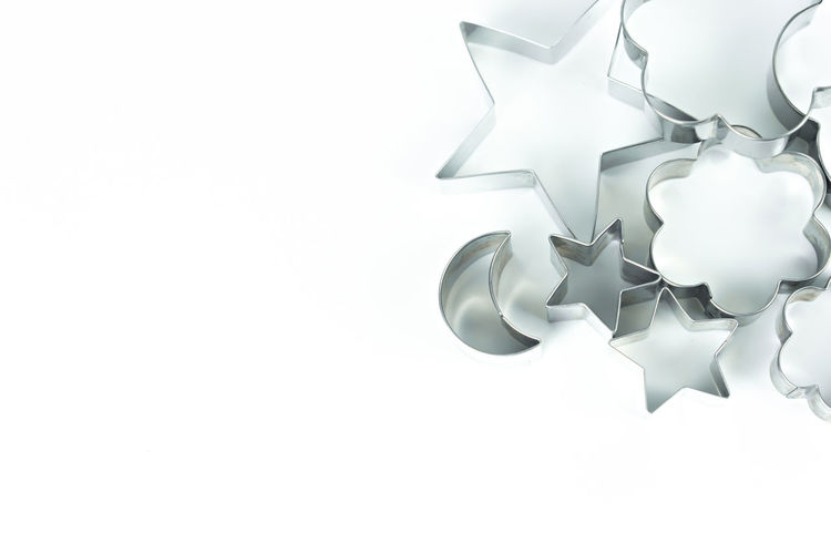 Flowers Blank Style Creative Abstract Background Bake Bakery Biscuit Christmas Concept Cook  Cookie Cooking Cut Cutter Cutters Decoration Decorative Design Dessert Dough Equipment Food Form Frame Heart Homemade Isolated Kitchen Kitchenware LINE Metal Metallic New Object Pastry Shape Shaped Silver  Stainless Star Symbol Texture Tools Utensil White Winter Copy Space