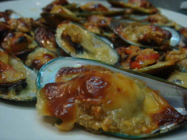 Clamshell Baked Clams Clams Close-up Day Food Food And Drink Freshness Healthy Eating Indoors  No People Plate Ready-to-eat Seafood Serving Size