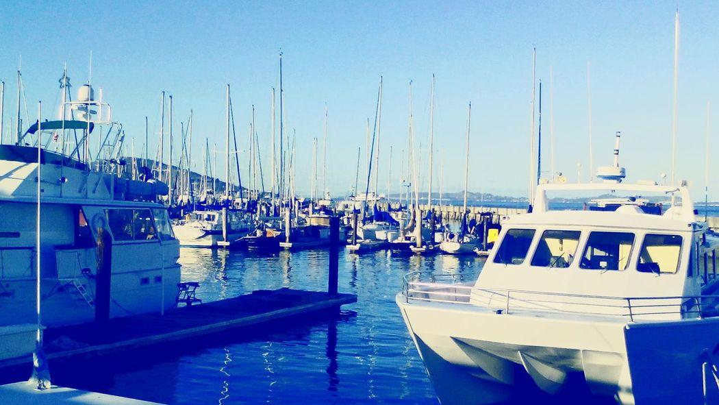 Relaxing Enjoying Life Sea Boats