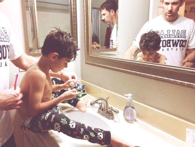 Getting ready for bed Brushing My Teeth Bedtime Routine Parenthood